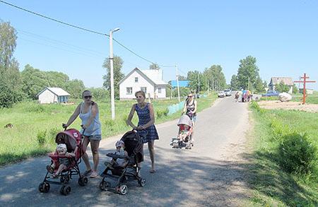 Деревня Добея отпраздновала своё 610-летие