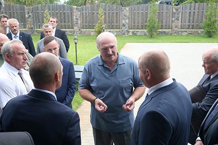 Тема недели: Рабочая поездка Президента в Витебскую область