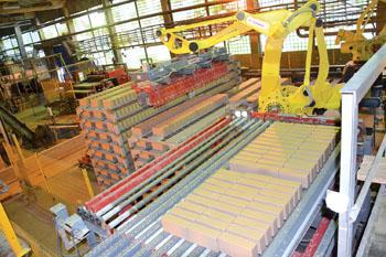 Обольский керамический завод выходит на проектную мощность