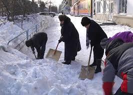 Дапаможам убраць снег!