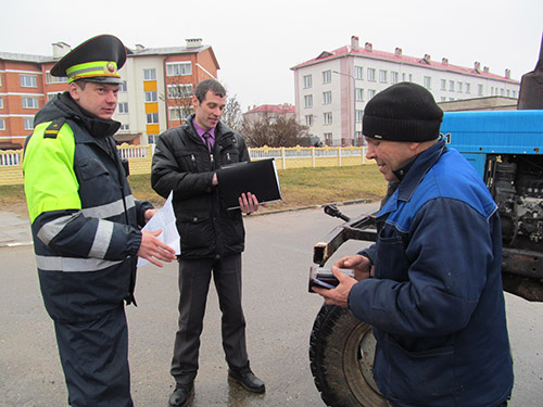 В Шумилино в День трезвости ГАИ проверила водителей – ноль промилей