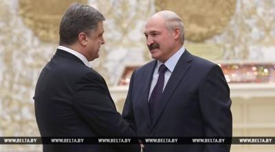 Лукашенко и Порошенко 26 апреля посетят ЧАЭС и проведут переговоры в Беларуси
