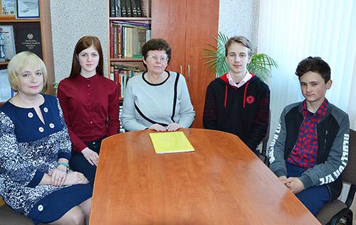 Шумилинские гимназисты намерены покорить БГУИР