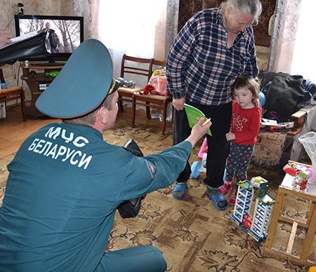 Безопасность: мобильная группа работала в Ковляковском сельсовете