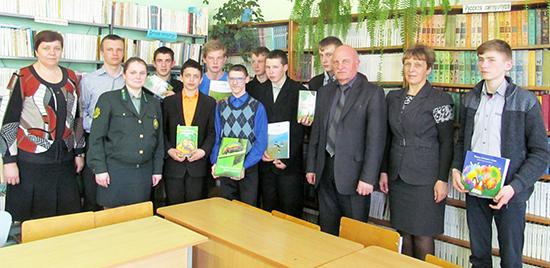 В Мишневичской школе есть своё лесничество