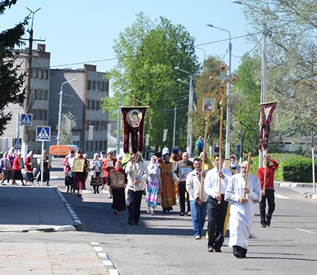 В честь Николая Чудотворца в Шумилино прошёл крестный ход