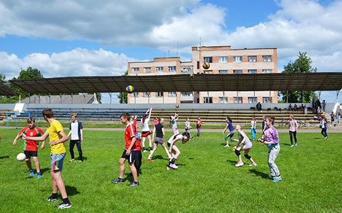 120 шумилинских детей отдохнут в спортивном лагере «Старт»