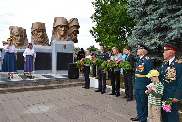 Шумилинский район отметил День освобождения от немецко-фашистских оккупантов