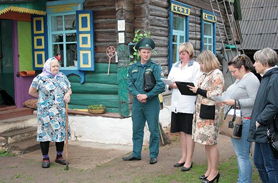 В Ковляковском сельсовете прошли встречи представителей власти с населением