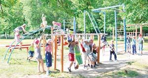 85 детей отдыхают на второй смене «Алого паруса» в Лесковичах
