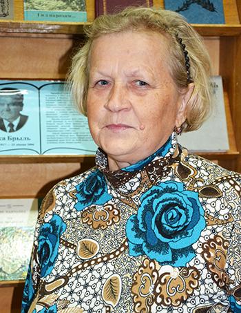 Галина Гарбузова: «Людям нужны книги»