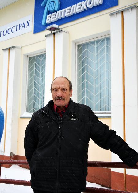 Доска почёта Шумилинского района: Владимир Севрюков