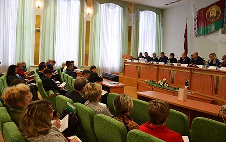 В Шумилино прошло областное совещание по реализации Декрета №18