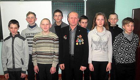 Интересными мероприятиями встретила Амбросовичская школа 100-летие Вооружённых Сил Республики Беларусь