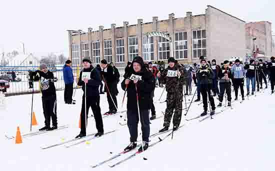 «Белорусская лыжня» на шумилинском стадионе