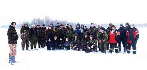 Озеро Будовесть собрало рыбаков на междурайонные соревнования