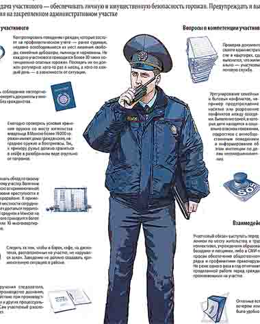 Участковые Шумилинского РОВД держат отчёт перед населением