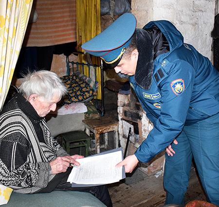 Шумилинские спасатели не устают напоминать о безопасности