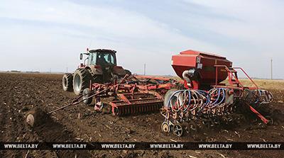Чашникский и Поставский районы первыми в Витебской области приступили к севу