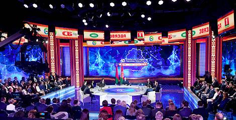 Тема недели: Встреча Президента Беларуси с представителями крупнейших государственных СМИ