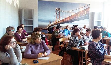 Педагоги Обольской СШ думают о проектной компетенции учеников