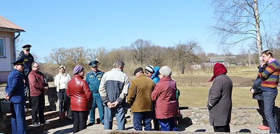 В Светлосельском сельсовете: местная власть и решение местных проблем