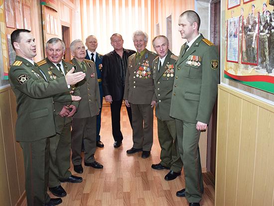 В Шумилино отметили 100-летие военкоматов
