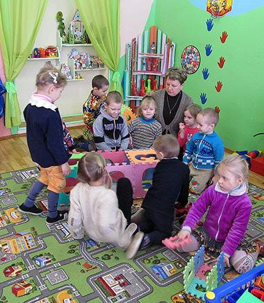Светлана Аглушевич работает в детском саду более 20 лет
