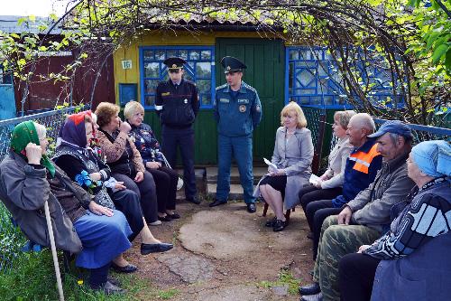 День работы с населением: Ловжанский сельсовет