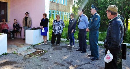 Вопросы безопасности главенствовали на Дне профилактики в Ловжанском сельсовете