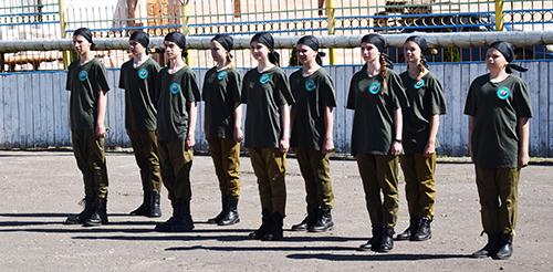В Шумилино прошла военно-патриотическая игра «Зарница»