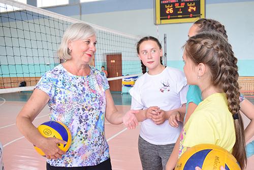 Любовь Бобова: «Я так люблю волейбол…»