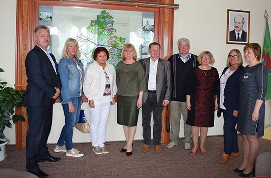 Шумилино посетила делегация из эстонского города Кохтла-Ярве