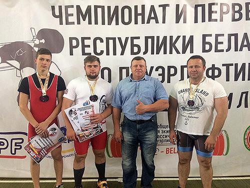 Шумілінскі раён пабагацеў на трох чэмпіёнаў Беларусі