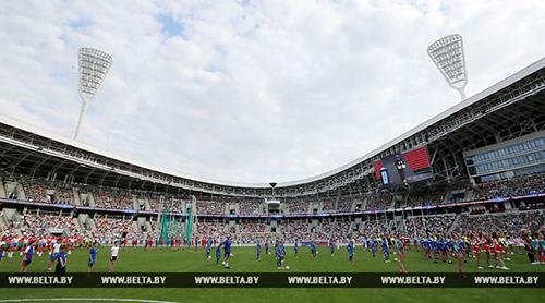 Обновленный стадион «Динамо» торжественно открылся в Минске