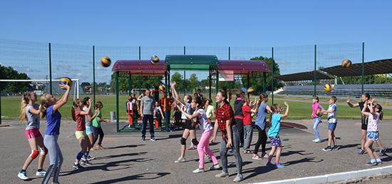 80 воспитанников Шумилинской ДЮСШ отдохнут этим летом в оздоровительном лагере «Старт»