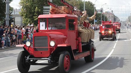 25 ліпеня – 165 год пажарнай службе Беларусі