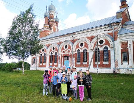 Воспитанники Шумилинского центра детей и молодёжи взяли направление на Победу