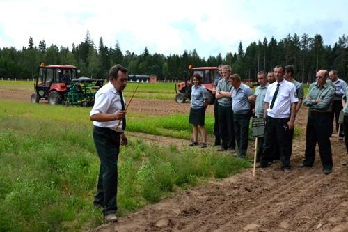 Шумилинский лесхоз успешно осваивает финский опыт