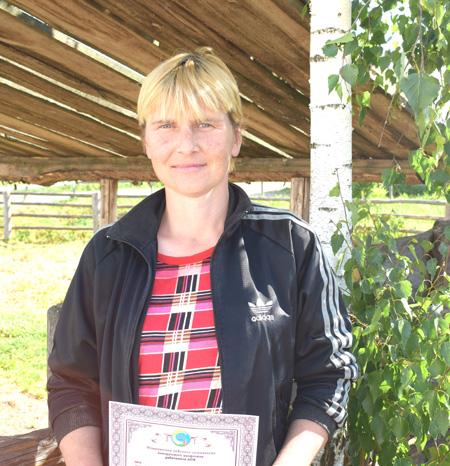 Наталья Черенок представляла шумилинских животноводов на торжествах в Минске