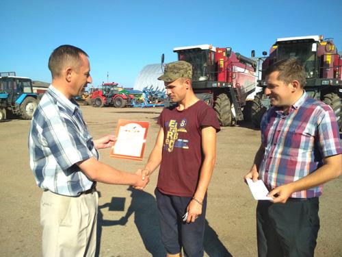 В Шумилинском районе подвели итоги первого укоса трав