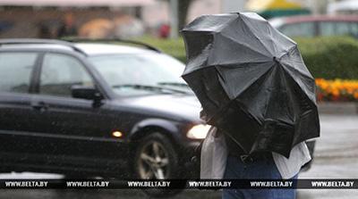 Дождливая и ветреная погода сохранится в Беларуси до конца рабочей недели