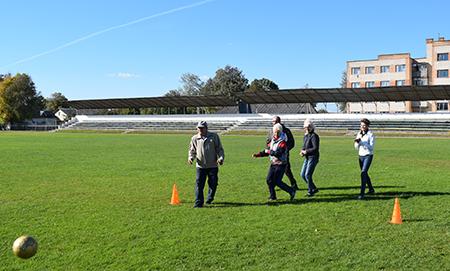 День пожилых людей в Шумилино встретили спортом