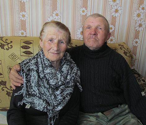 50 лет живут вместе Фаина Алексеевна и Василий Ильич Зинкины из Оболи