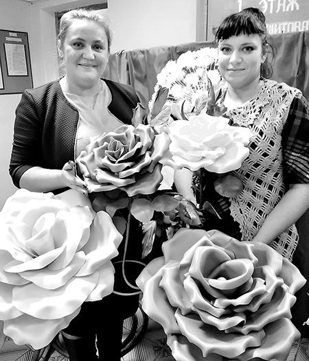 Кветкі-свяцільні робяць у Шумілінскім ТЦСАН