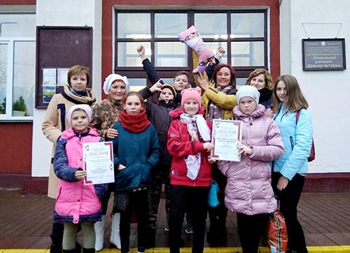 Башневский театральный коллектив «Премьера» покорил Лепель