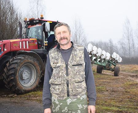 Александр Новик взял на себя ответственность за всю технику в «Мишневичах»