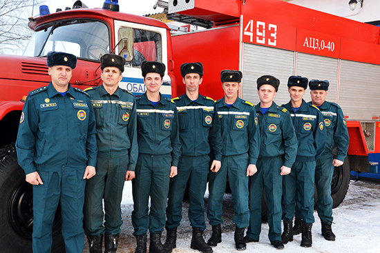 Всегда в боевой готовности – Обольский пожарный аварийно-спасательный пост №11