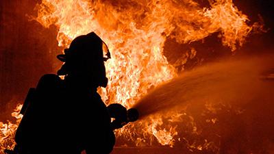 В Шумилино горело здание филиала ОАО «Молоко»