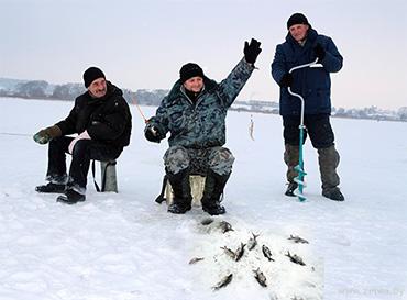 19 января на озере Будовесть пройдут соревнования по зимнему лову рыбы